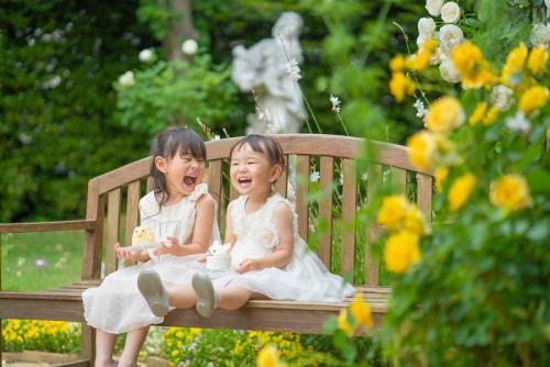 子供ガーデンベンチ②